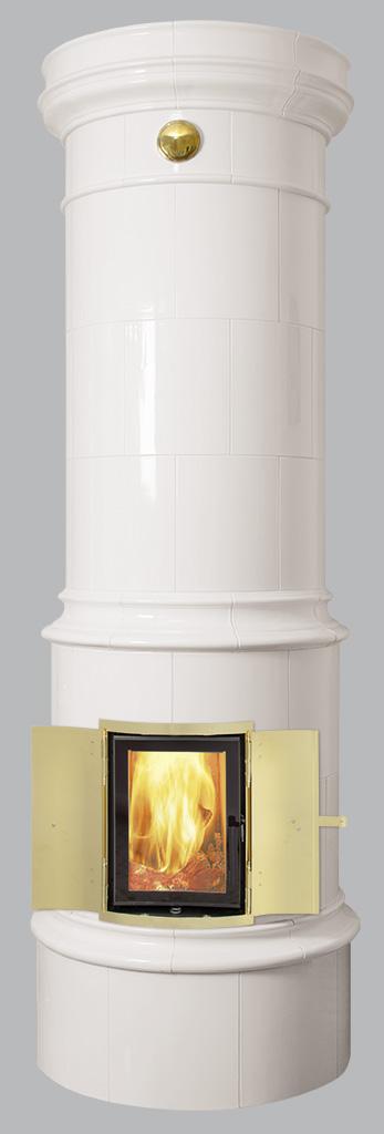 Antiker schwedischer Kachelofen Reimanns-Krona® 44