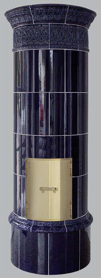 Antiker schwedischer Kachelofen Reimanns-Krona® 10