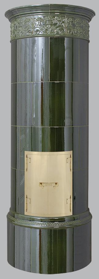 Antiker schwedischer Kachelofen Reimanns-Krona® 12