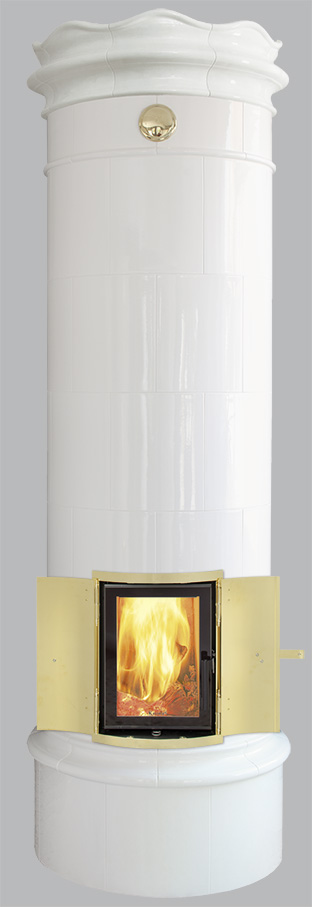 Antiker schwedischer Kachelofen Reimanns-Krona® 25