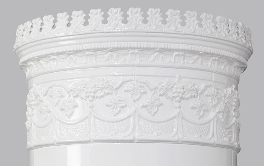 Antiker schwedischer Kachelofen Reimanns-Krona® 26