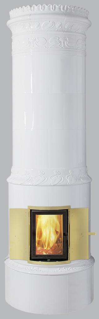 Antiker schwedischer Kachelofen Reimanns-Krona® 40