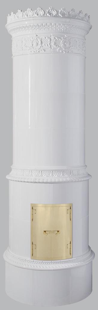Antiker schwedischer Kachelofen Reimanns-Krona® 43