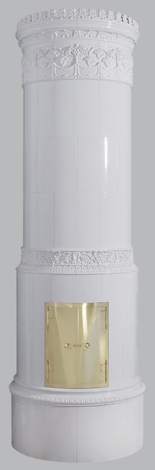 Antiker schwedischer Kachelofen Reimanns-Krona® 45
