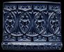 Ofenkachel königsblau